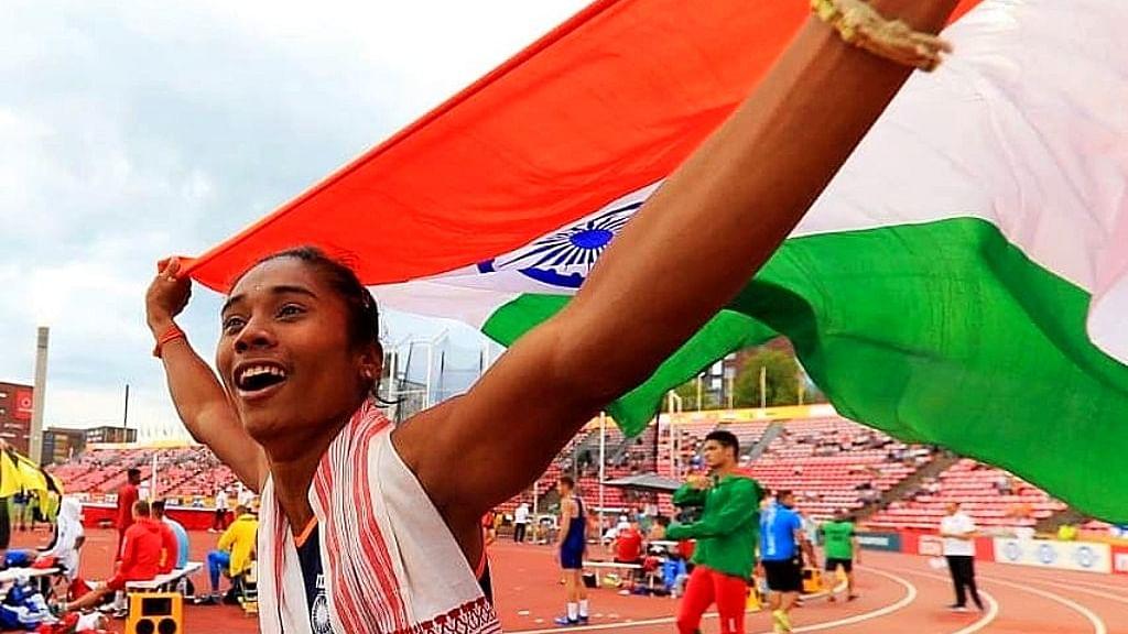 The dream run of Hima Das, the golden girl from Assam