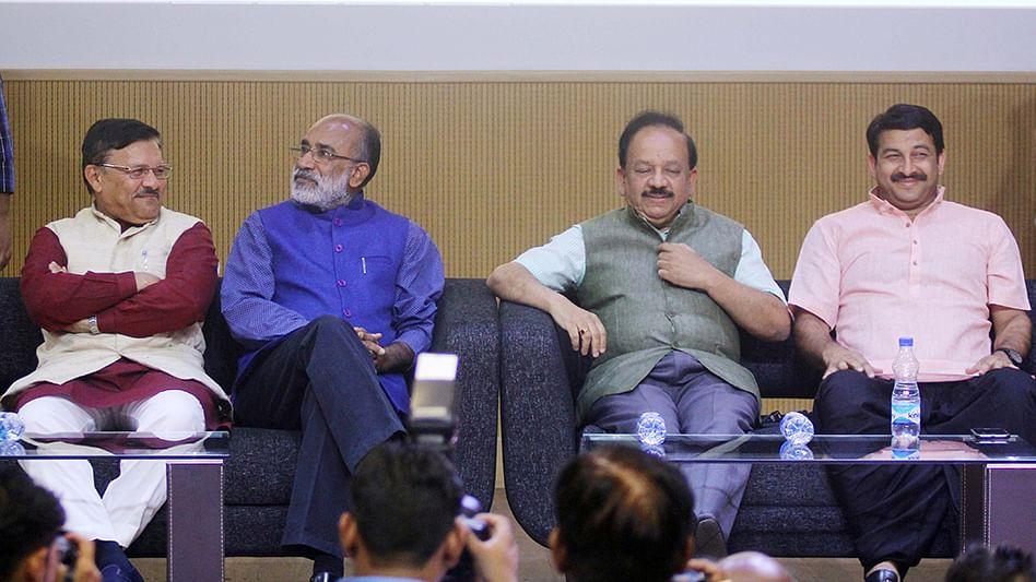 BJP declares war on mainstream media ahead of 2019