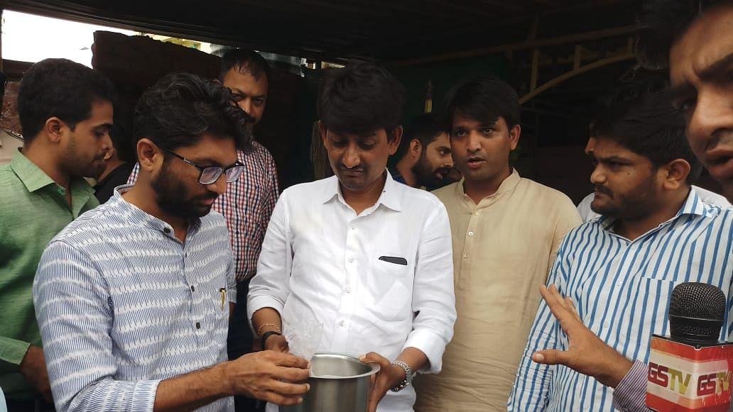 Gujarat's youth brigade, Alpesh, Hardik, Jignesh, raids illegal liquor dens