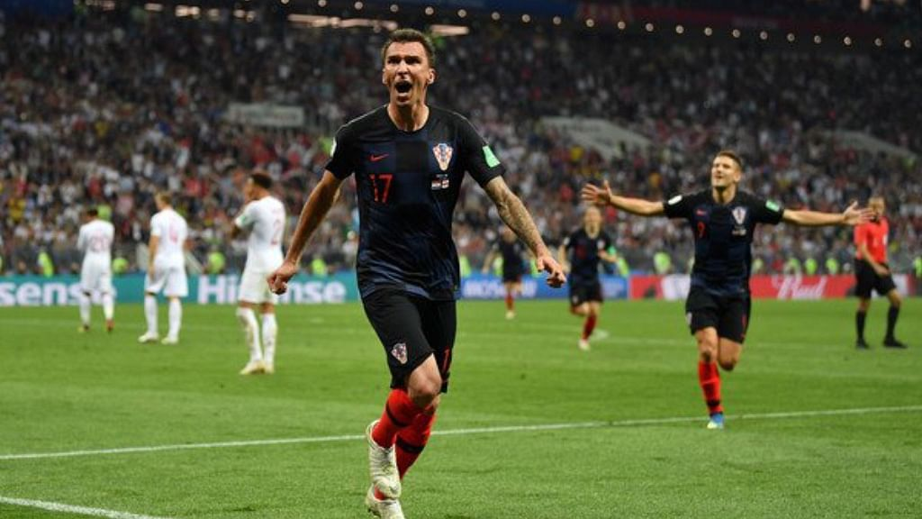 Historic extra-time victory takes Croatia into its first-ever FIFA World Cup final