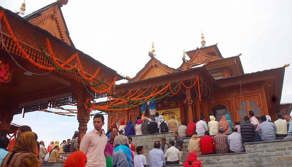 Shimla's 250-year-old hilltop Taradevi temple restored to past glory