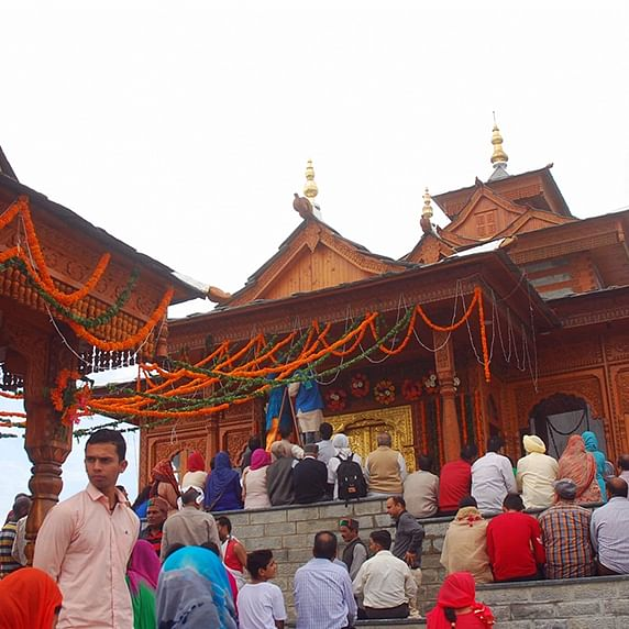 Shimla's 250-year-old hilltop Taradevi temple restored to past glory