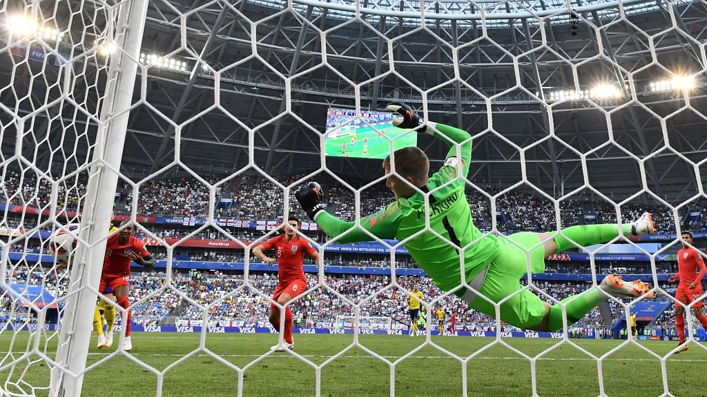 FIFA World Cup: Goalkeeper the hero as England marches into semi-finals