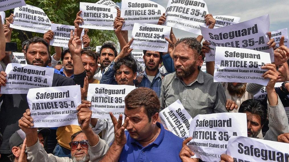 Kashmir to observe 2-day strike next week for safeguarding Constitution