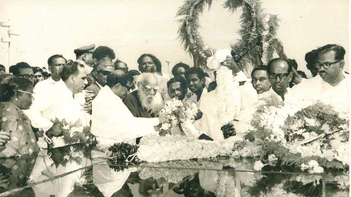 Karunanidhi memorial is a psychological, political boost for DMK