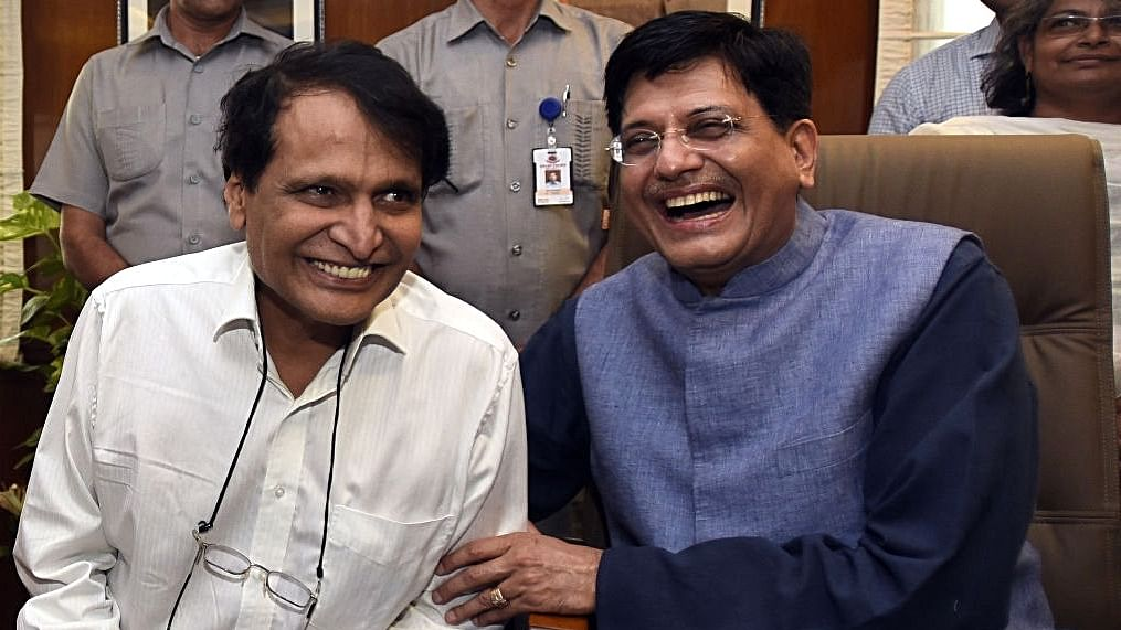 Piyush Goyal blows up lakhs of taxpayer's money on chartered planes: report
