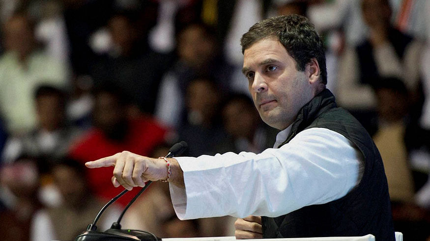 "Modi ""incompetent, autocratic driver"", people looking for change, says Rahul Gandhi"