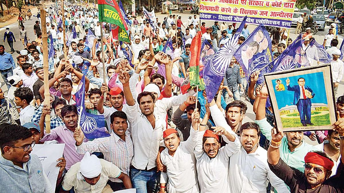 There should be no doubt that BJP-RSS combine is against Dalits
