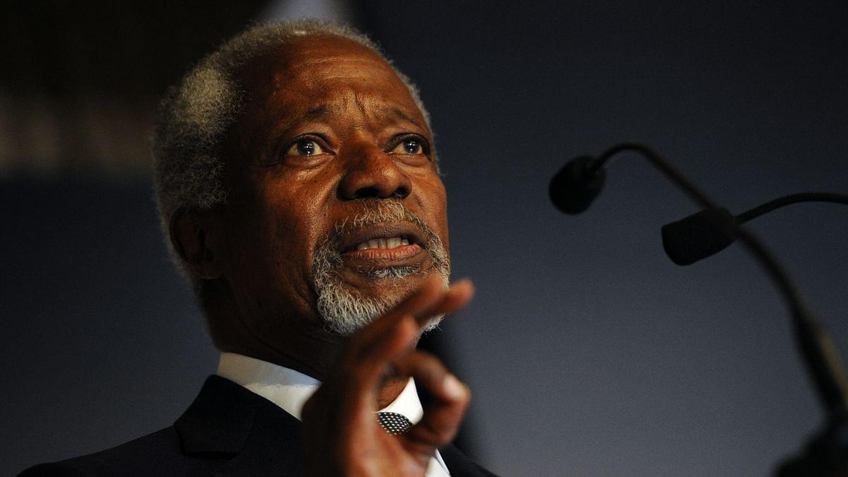 Former UN chief Kofi Annan dies aged 80