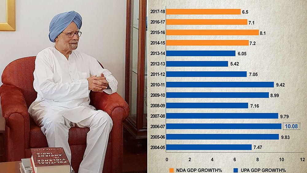 "Now Modi Govt  says back series GDP data ""not official estimates"""