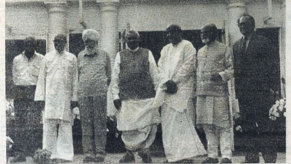 Images: Prime Minister Atal Bihari Vajpayee in pages of National Herald