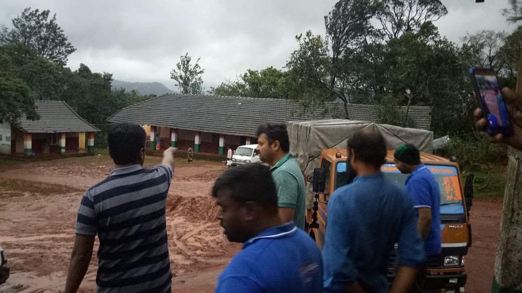 Karnataka floods: Relief works intensified in  Kodagu