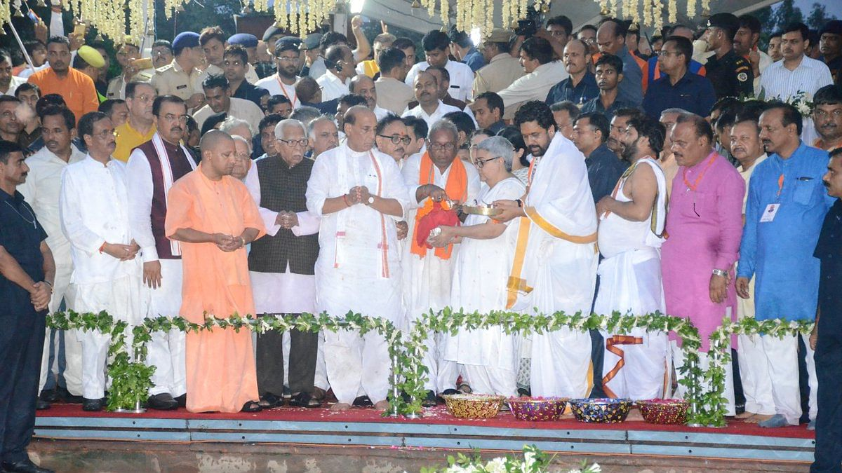 UP: Yogi govt shuts down Lucknow for immersion of Vajpayee's ashes