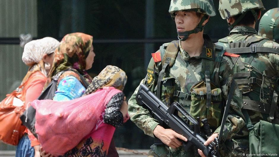UN: China's Uighur autonomous region resembles massive internment camp