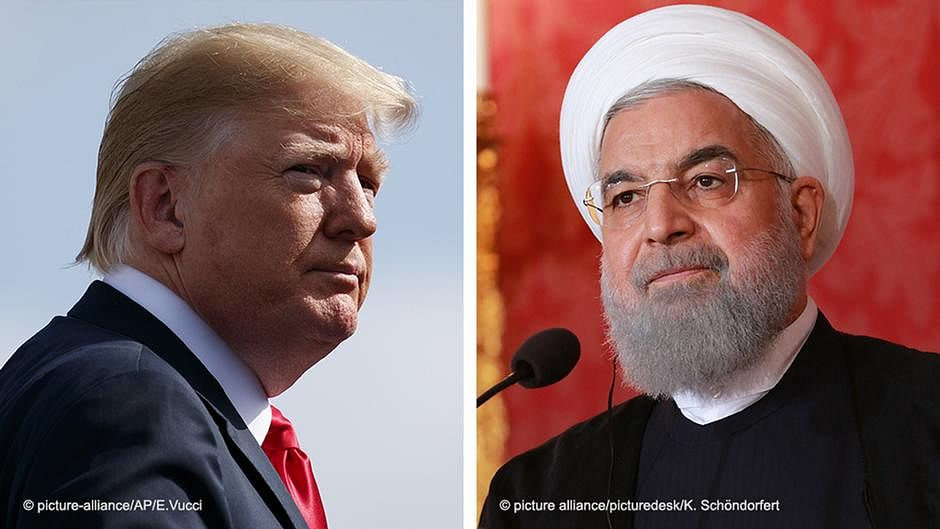 Sanctions: Iranian President denounces Trump's 'psychological warfare'
