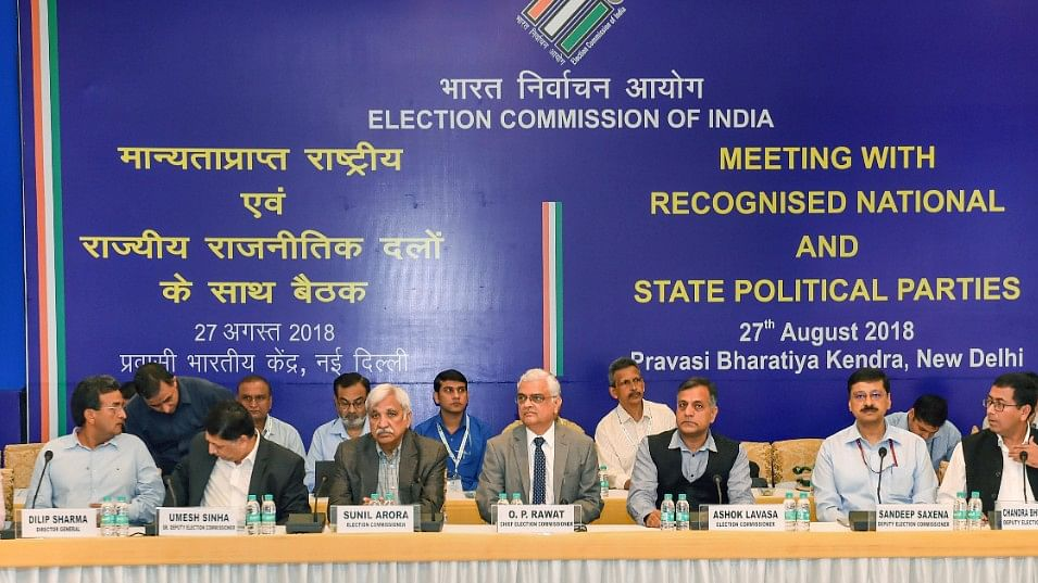 Restore paper ballots, opposition parties tell EC, no faith in EVMs, says Mamata