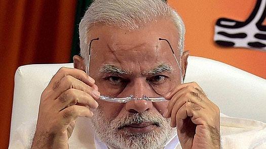 "Shiv Sena calls PM Modi's interviews ""sheer propaganda"""