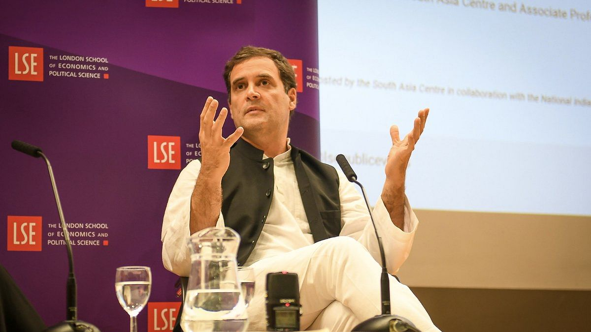 Rahul Gandhi in London: RSS is trying to change the idea of India