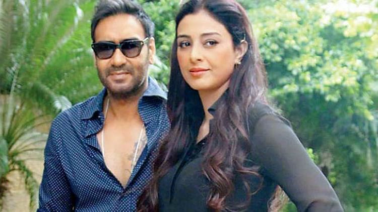 The talented and underused Tabu  reunites with Ajay Devgn