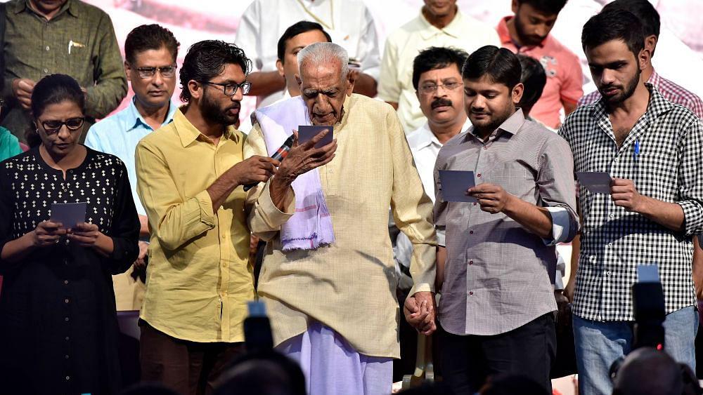 Watch: Jignesh Mevani blames BJP, RSS for attack on Umar Khalid