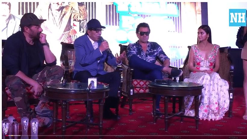 Watch: Rafta Rafta (Medley) song launch, 'Yamla Pagla Deewana Phir Se' star cast in Delhi