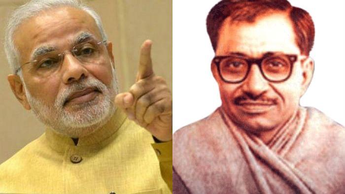No Mr Modi, Deendayal Upadhyaya didn't come up with 'Antyodaya'