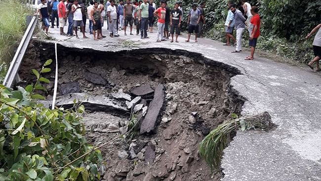 Fresh landslides: North Sikkim isolated as road connectivity snapped