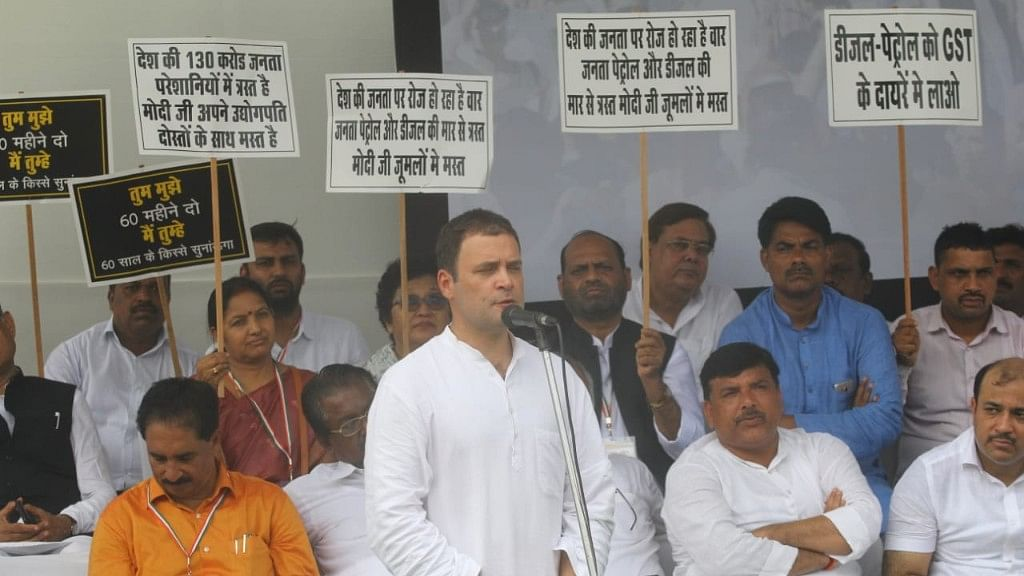 Trailer-launch of Opposition unity: Rahul says 'will defeat BJP' in 2019