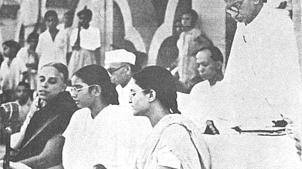 Mahatma Gandhi found refuge  in music