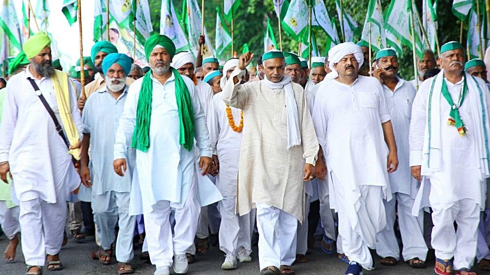 Angry Uttar Pradesh farmers march to Delhi; to reach on Gandhi Jayanti