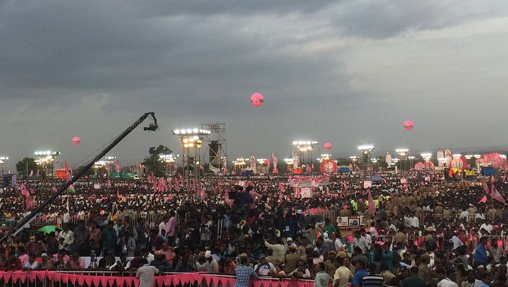 Telangana CM KCR stops short of poll dates announcement, seeks to return to power