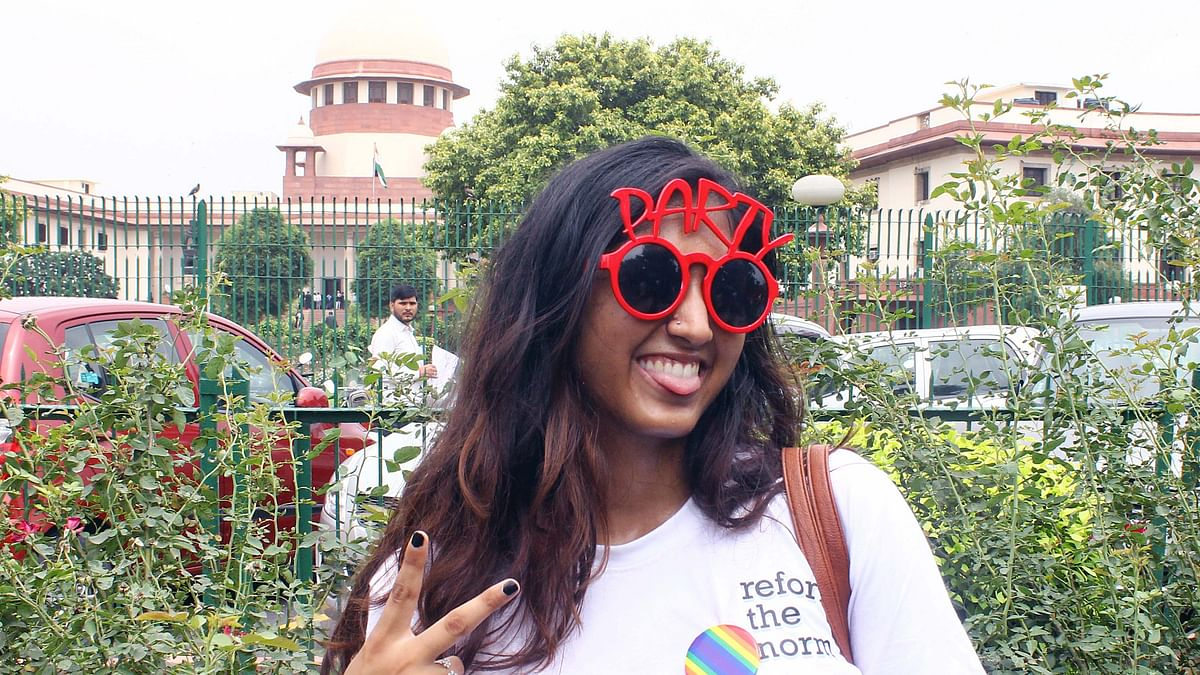 Section 377 decriminalised: the historic day in images