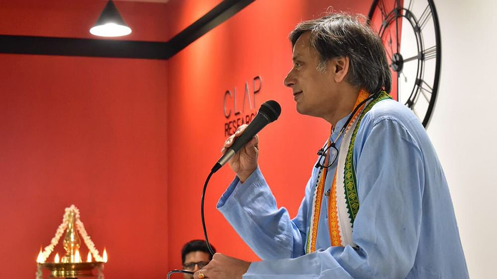 Shashi Tharoor: Hinduism is ideal religion in this  age of uncertainty