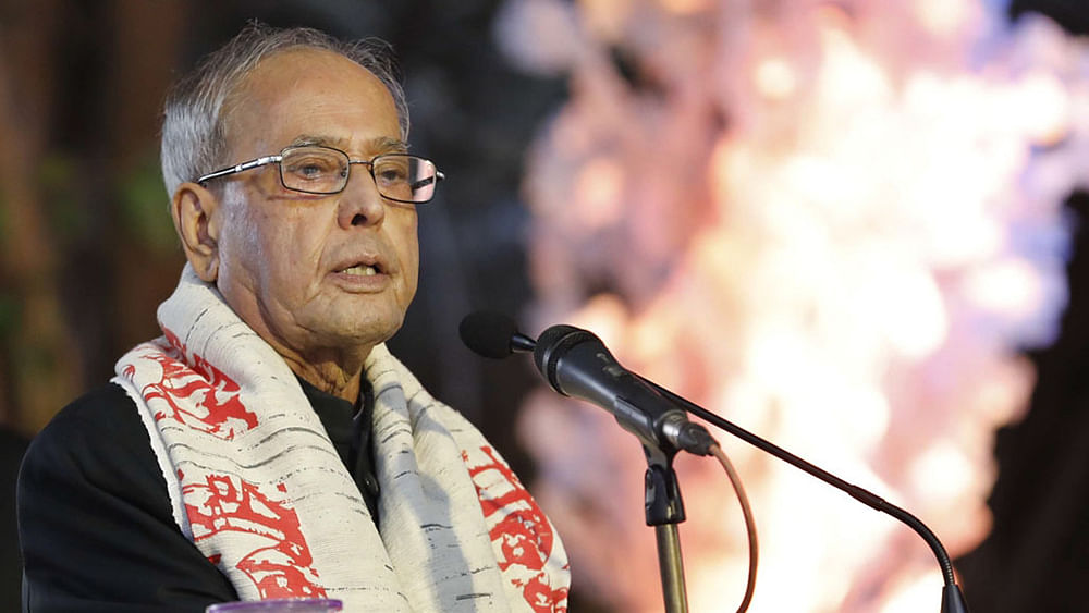 "Pranab Mukherjee bemoans loss of ""letter writing habits"""