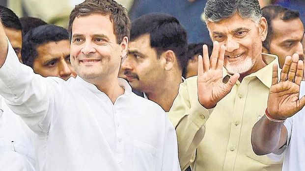 Congress, TDP and CPI  form an alliance in Telangana to take on KCR