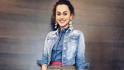 Taapsee likes to conceptualize her promotional looks based on her looks in her films