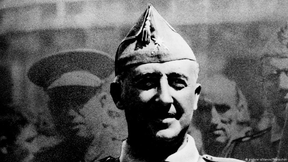 Spain's lawmakers vote to dig up remains of former dictator Franco
