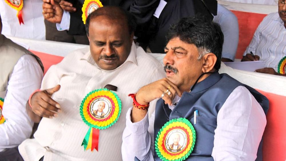 Congress stands by Karnataka minister DK Shivakumar, slams BJP for raids