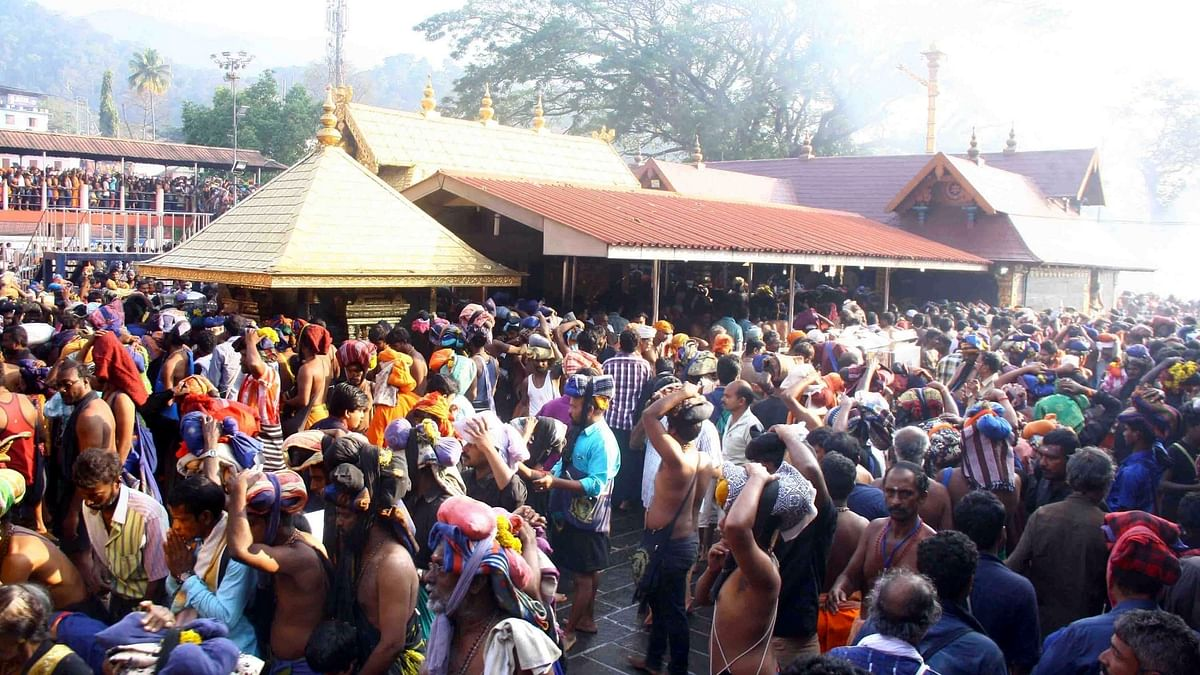 Sabarimala temple open for women, SC says banning them is gender discrimination