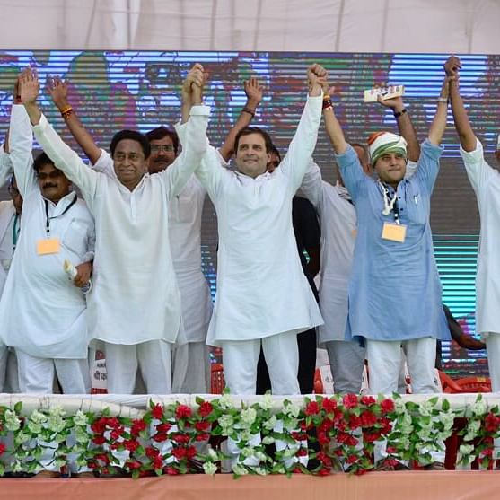 Rahul Gandhi to do a road show as poll fever rises in Madhya Pradesh