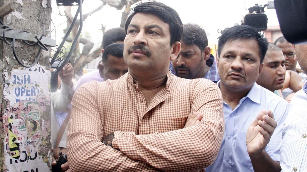 BJP leader Manoj Tiwari (File Photo)