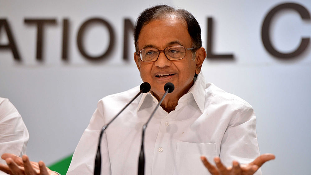 Chidambaram: Modi government thinks it owns RBI, wants bank's 'hoard of cash'