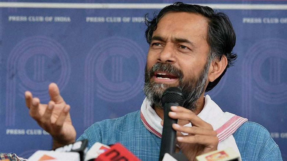 Detained by TN police, Yogendra Yadav issues statement on defying police order