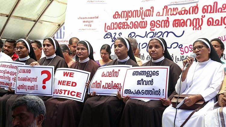 Kerala nuns sit on indefinite fast to ensure state acts against rape-accused bishop