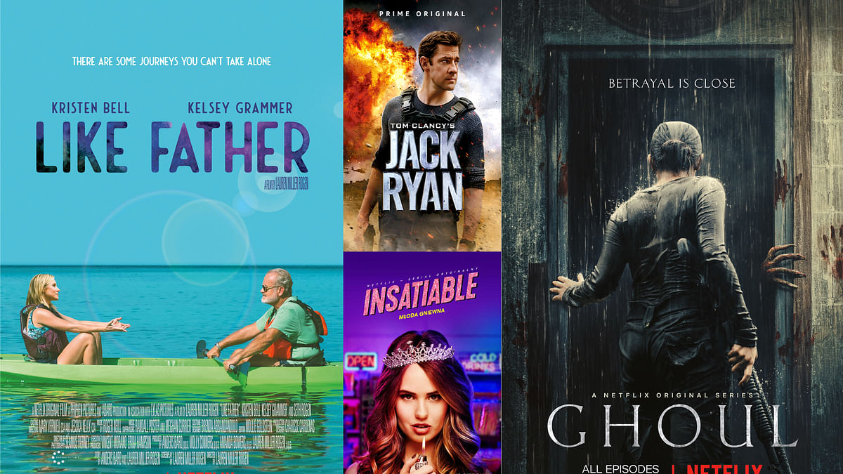 Ghoul doesn't scare, Jack Ryan gets a makeover