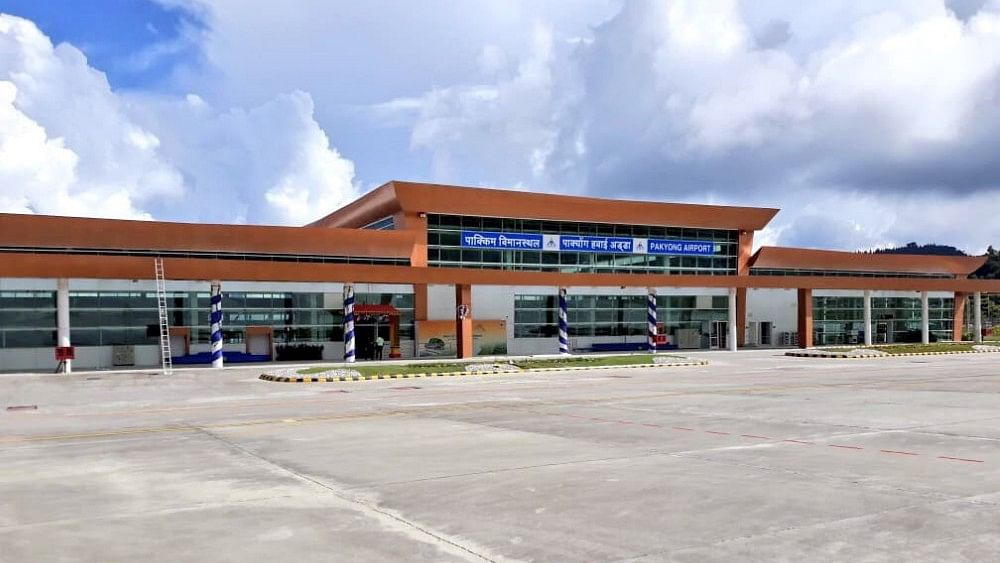 Sikkim's new airport: PM Modi pats his own back with false claims