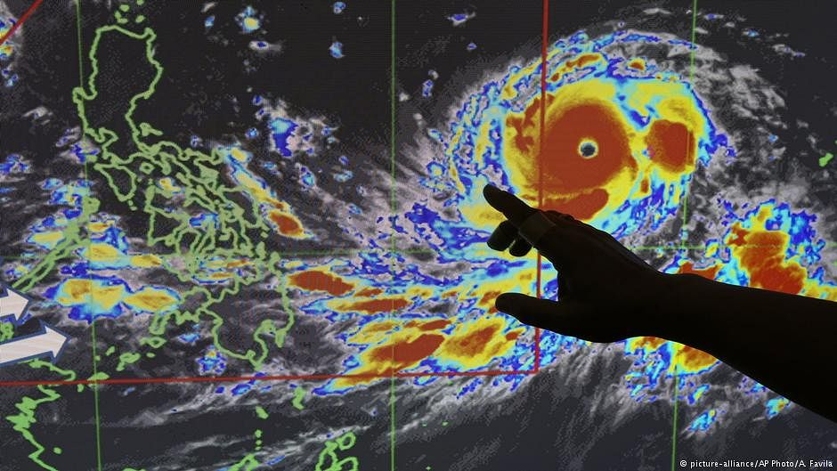 Monster typhoon Mangkhut races towards the Philippines, south China