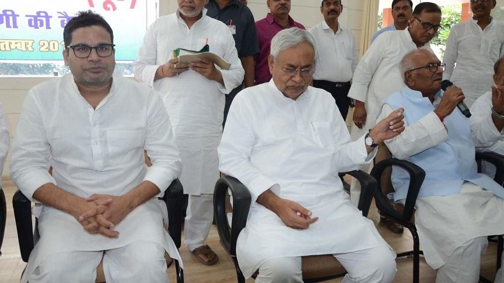 Nervous Nitish Kumar clutches at straws by inducting Prashant Kishor