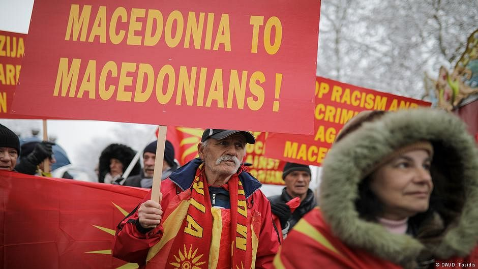 Macedonians vote in referendum that could change their country's name