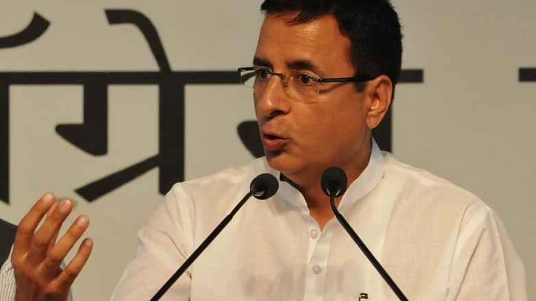 Congress spokesperson Randeep Singh Surjewala